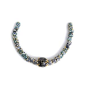Carthaginian polychrome glass Eye Bead ...
