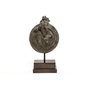 Roman Bronze Chariot-Fitting in the form of ...