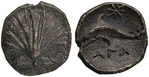 Apulia, Tarentum, Litra, ca. 420-227 BCAR (g ...