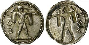 Lucania, Poseidonia, Stater, ca. 530-500 ...