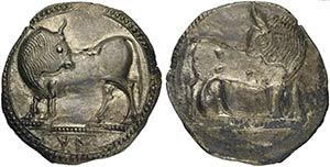 Lucania, Sybaris, Stater, ca. 550-510 BCAR ...