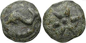 Apulia, Luceria, Cast Teruncius, ca. 225-217 ...