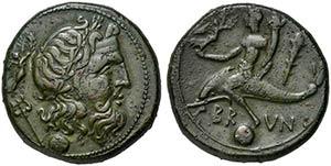 Apulia, Brundisium, Uncia, 215 BCAE (g 8,72; ...