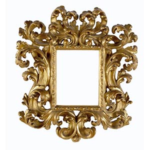 FRAME, TUSCANY, 17th CENTURYCarved wooden ...