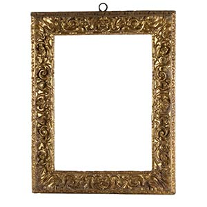 FRAME, ROME, 17th CENTURYSculpted and gilded ...