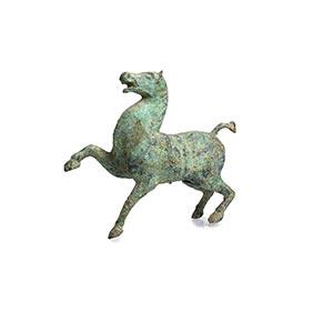 AN ARCHAIC BRONZE MODEL OF A HORSEChina, ...