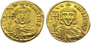 Constantine V (741-775), Solidus, ...