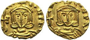 Constantine V (741-775), Tremissis, ...