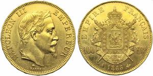 France, Napoleon III (1852-1870), 100 ...