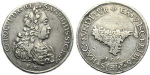 Kingdom of Sicily, Carlo VI (1707-1734), 6 ...