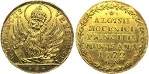 Venice, Alvise IV Mocenigo (1763-1778), ...