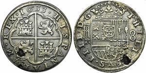 Spain, Philip IV (1621-1665), 8 Reales, ...