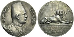 Fuad I (King of Egypt, 1917-1936), Medal for ...