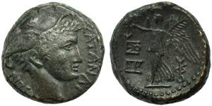 Sicily, Katane, Bronze, 2nd-1st century BC; ...