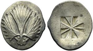 Sicily, Selinus, Didrachm, c. 480-466 BC; AR ...
