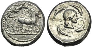 Sicily, Syracuse, Gelon I (485-478), ...
