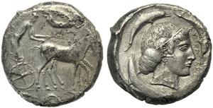Sicily, Syracuse, Geron I (478-466), ...