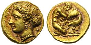 Sicily, Syracuse, Dionysios I (405-367) 100 ...