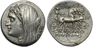 Sicily, Syracuse, Philistis (Hieron II, ...