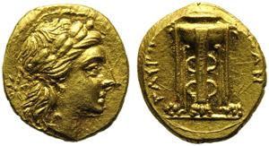 Sicily, Tauromenion, Tetradrachm, c. 275-210 ...