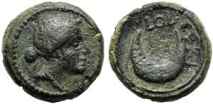 Apulia, Luceria, Semuncia, c. 211-200 BC; AE ...