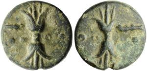 Anonymous, Cast Triens, Rome, c. 235 BC; AE ...