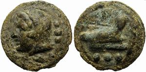 Anonymous, Cast Quadrans, Rome, c. 225-217 ...