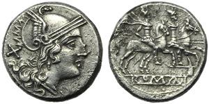 Anonymous (Dolabella series), Denarius, ...