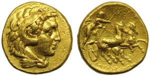 Apulia, Tarentum, Hemistater, c. 280 BC; AV ...