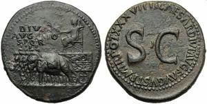 Divus Augustus (Tiberius, 14-37), ...