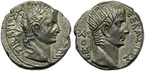 Tiberius (14-37), Tetradrachm, Egypt: ...