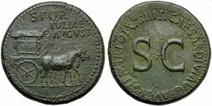 Livia (Tiberius, 14-37), Sestertius, Rome, ...