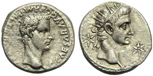 Gaius, called Caligula (37-41), Denarius, ...