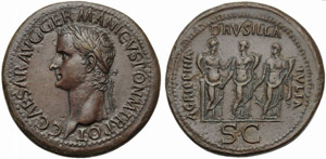 Gaius, called Caligula (37-41), Sestertius, ...