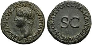 Germanicus (Gaius, 37-41), As, Rome, AD ...