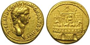 Claudius (41-54), Aureus, Rome, AD 44-45; AV ...