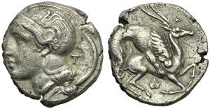 Lucania, Velia, Didrachm, c. 400-340 BC; AR ...