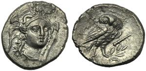 Lucania, Heraclea, Drachm, c. 281-278 BC; AR ...