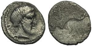 Etruria, Populonia, 5 Units, 3rd century BC; ...