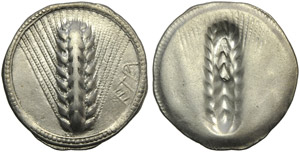 Lucania, Metapontion, Stater, c. 540-510 BC; ...