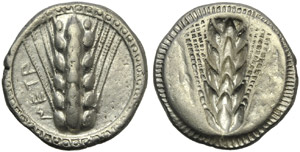 Lucania, Metapontion, Stater, c. 510-470 BC; ...