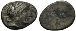 Etruria, Populonia, 10 Units, c. 300-250 BC; ...