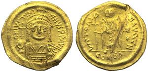 Justinian I (527-565), Solidus, ...