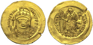 Justinian I (527-565), Solidus, Ravenna, AD ...