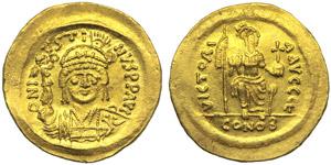 Justin II (565-578), Solidus, ...