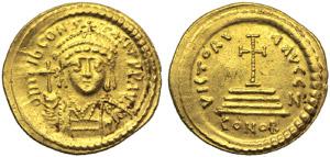 Tiberius II Constantine (578-582), Solidus, ...
