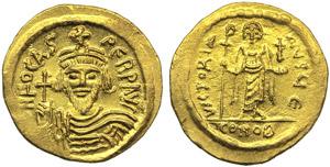 Focas (602-610), Solidus, Constantinople, AD ...
