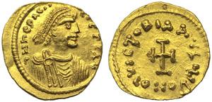 Heraclius (610-641), Tremissis, ...