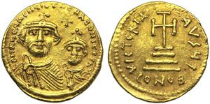 Heraclius with Costantinus (610-641), ...