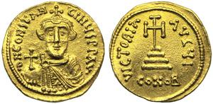 Constans II (641-668), Solidus, ...